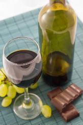vino-chocolate