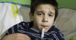Hijo enfermo