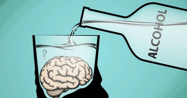 Resultado de imagen para efectos del alcohol en el cerebro
